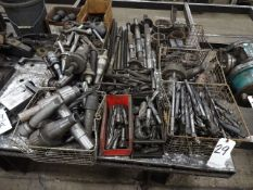 LOT: Assorted Tooling including Drill Bits, Arbors, Tool Holders, etc.