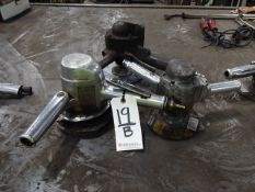 LOT: (3) Assorted Pneumatic Grinders