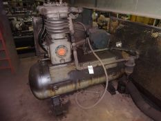 Curtis 15 HP 2-Stage Air Compressor, S/N C9880-4795 (located in mezzanine)