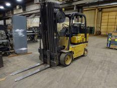Caterpillar 8000 lb. Model T80D LP Forklift Truck, S/N 5KB01989, 4-Stage Mast