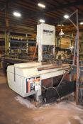 Marvel Model 8-Mark-II Vertical Band Saw, S/N 830913 (2012), with Heavy Duty Roller Infeed & Outfeed