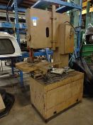 Grob 24 in. Type 4V-24 Vertical Band Saw, S/N 1287 (1977)
