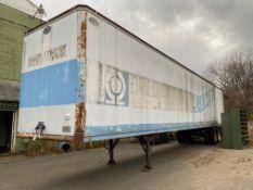 Dorsey 40 ft. Van Trailer, S/N 140578 (1976) (South Beloit)