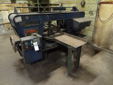 Kysor Johnson Horizontal Band Saw, S/N HS-617 (South Beloit)