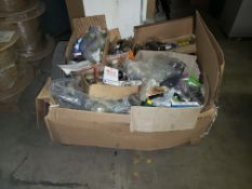 SKID OF ASSORTED POWER TRANE - BEARINGS, SPOCKETS AND MISC