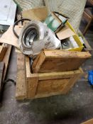 SKID LOT - CHAINS, BELTS, OIL SEALS, SPROCKETS AND MISC