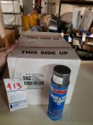 CASES OF BRAKE AND PARTS CLEANER 592