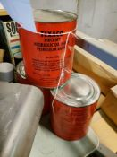 LOT OF 3 CANS OF TEXACO AIRCRAFT OIL