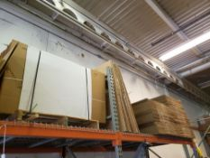 """LOT OF 284 CARDBOARD BOXES 18"""" X 16"""" X 14"""" WITH STACK OF 20 USED BOXES"""