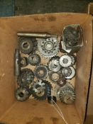 LOT OF ASSORTED CUTTING WHEELS