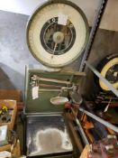 TOLEDO PLATFORM SCALE - MODEL 2081 - 225LB CAP