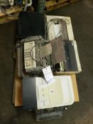 LOT OF 5 PRINTERS AND FAX MACHINE