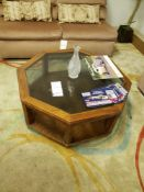 "38"" OCTAGON COFFEE TABLE"