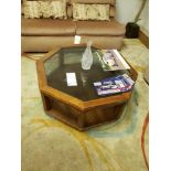 """38"""" OCTAGON COFFEE TABLE"""