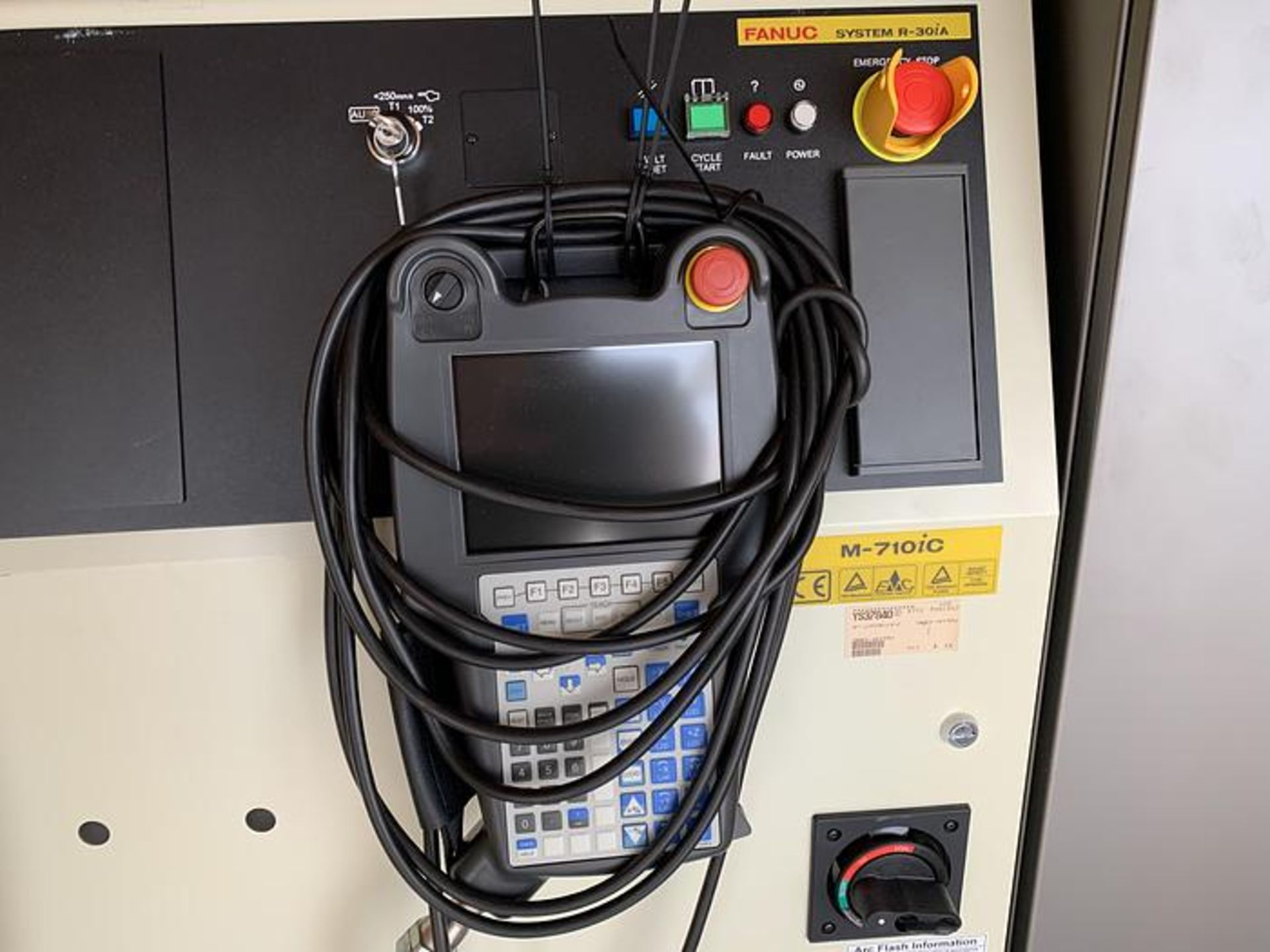 Lot 17 - FANUC ROBOT M-710iC/50 R-30iA CONTROL, TEACH PENDANT & CABLES, YEAR 2012, SN 56908 NEW IN BOX