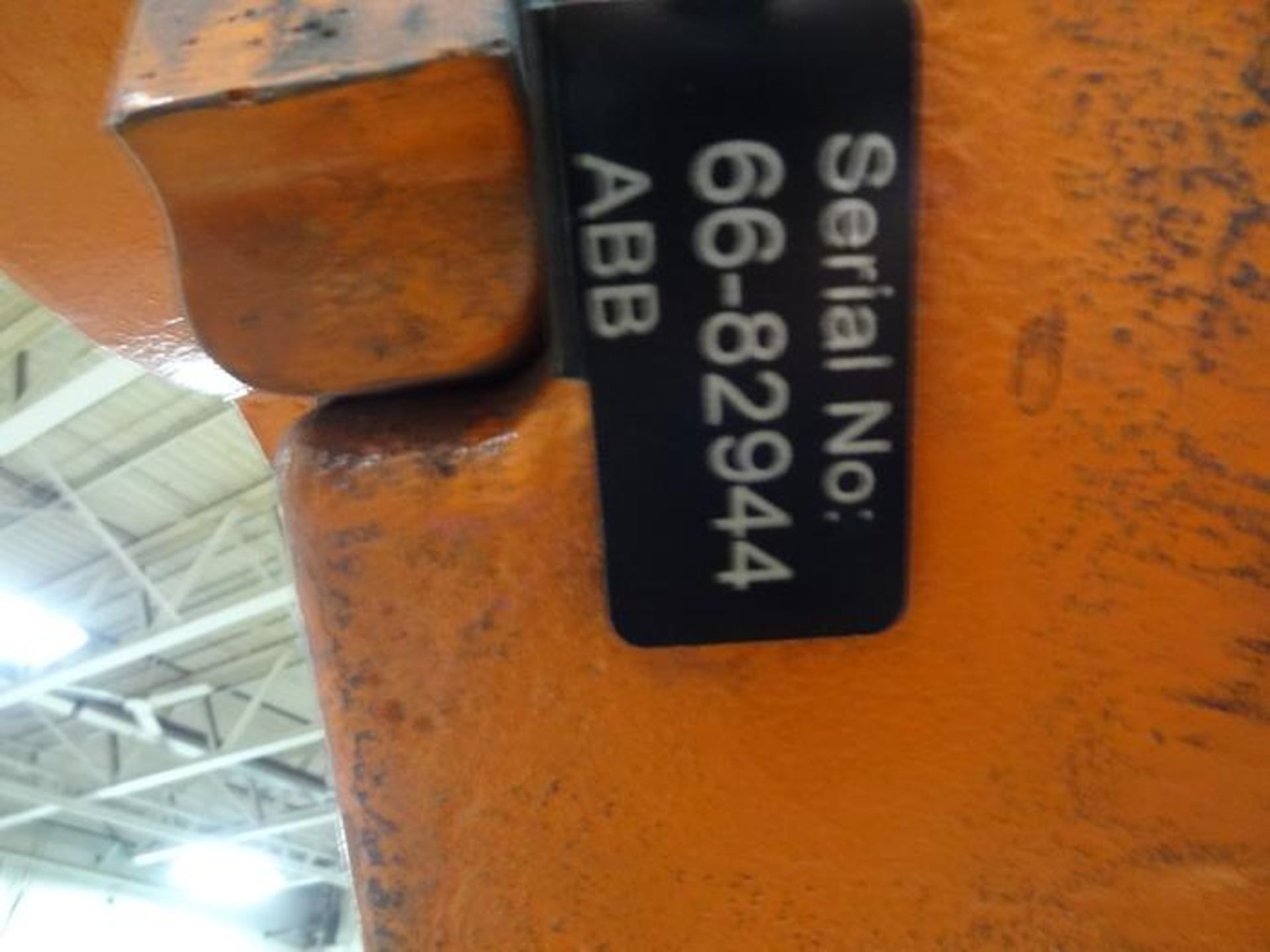 Lot 49 - ABB ROBOT IRB 6640 2.55/235KG WITH IRC 5 CONTROL, TEACH & CABLES, YEAR 2012 SN 66-82944