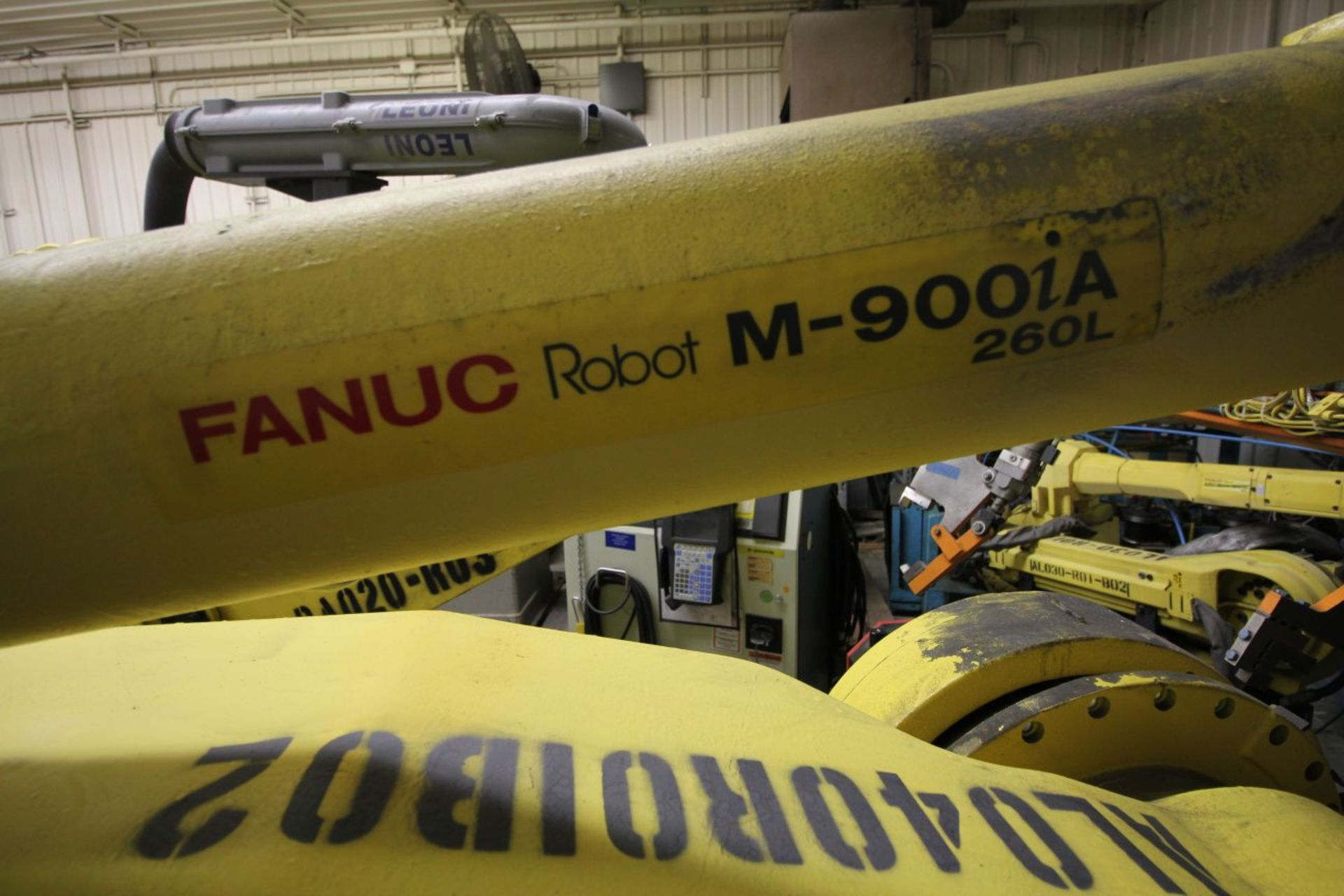 Lot 26 - FANUC M-900iA/260L WITH R-30iA CONTROLS, TEACH & CABLES, YEAR 2011, SN 110998