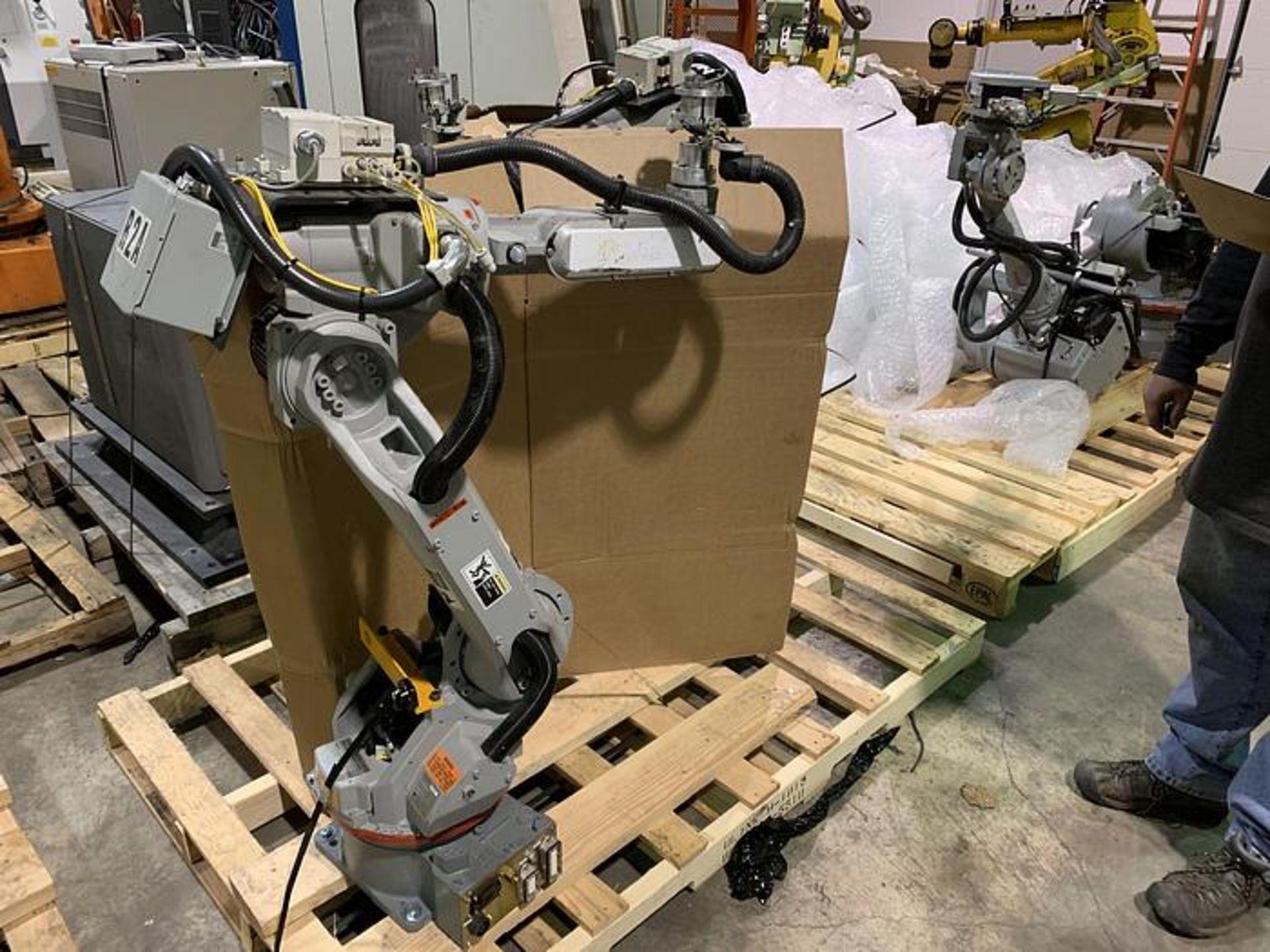 Lot 58 - MOTOMAN SSF2000 6 KG X 1,378mm REACH 6 AXIS CNC ROBOT WITH NX100 CONTROL, YEAR 2008, SN S86AO7-1-4