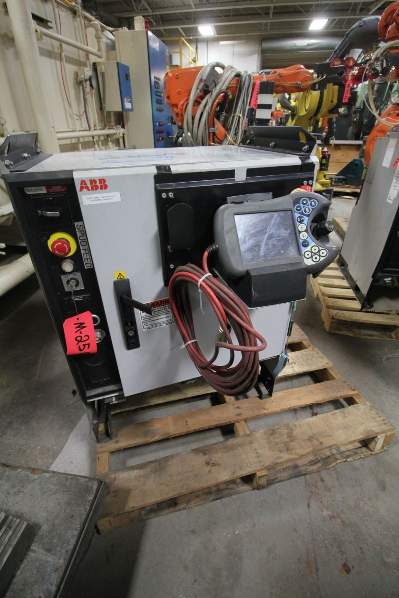 Lot 1 - ABB ROBOT IRB 2600 1.65/20KG WITH IRC5 CONTROLS, YEAR 2013 SN 500453