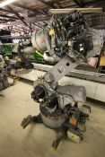 MOTOMAN ROBOT ES200N, NX100 CONTROL, SN S5M257-1-5, YEAR 12/05, CABLES AND TEACH PENDANT