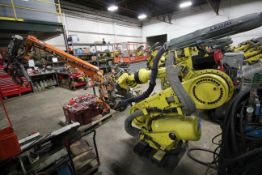 FANUC ROBOT R-2000iB/210F WITH R-30iA CONTROL, CABLES & TEACH PENDANT, SN 106331, YEAR 2010