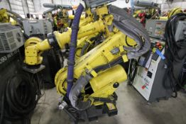 FANUC ROBOT R-2000iB/210F WITH R-30iA CONTROL, CABLES & TEACH PENDANT, SN 97013, YEAR 2009