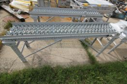 1 SECTIONS GRAVITY ROLLER CONVEYOR