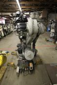 MOTOMAN ROBOT ES200N, NX100 CONTROL, SN S5M255-1-3, YEAR 12/05, CABLES AND TEACH PENDANT