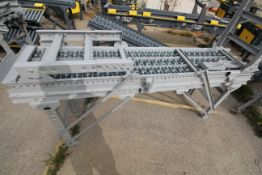 2 SECTIONS GRAVITY ROLLER CONVEYOR