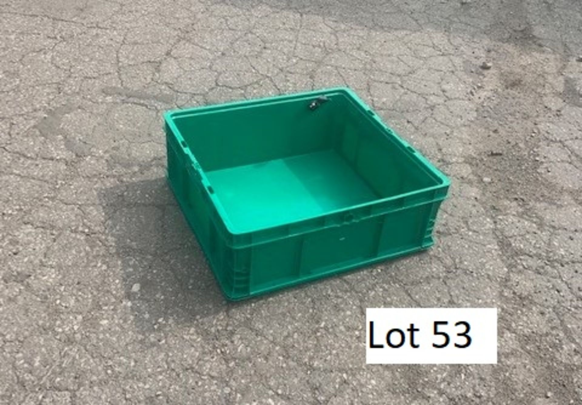 24X22X9 GREEN PACKAGING TOTES, LOT OF 50