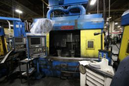 SMS TWIN SPINDLE VERTICAL TURNING CENTER, FANUC CONTROL