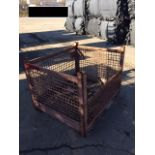 54x44x40 MIXED COLOR WIRE BASKETS, LOT OF 10