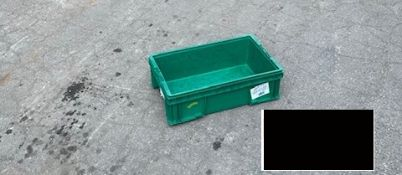24 x 5 x 07 GREEN PACKAGING TOTES, LOT OF 50
