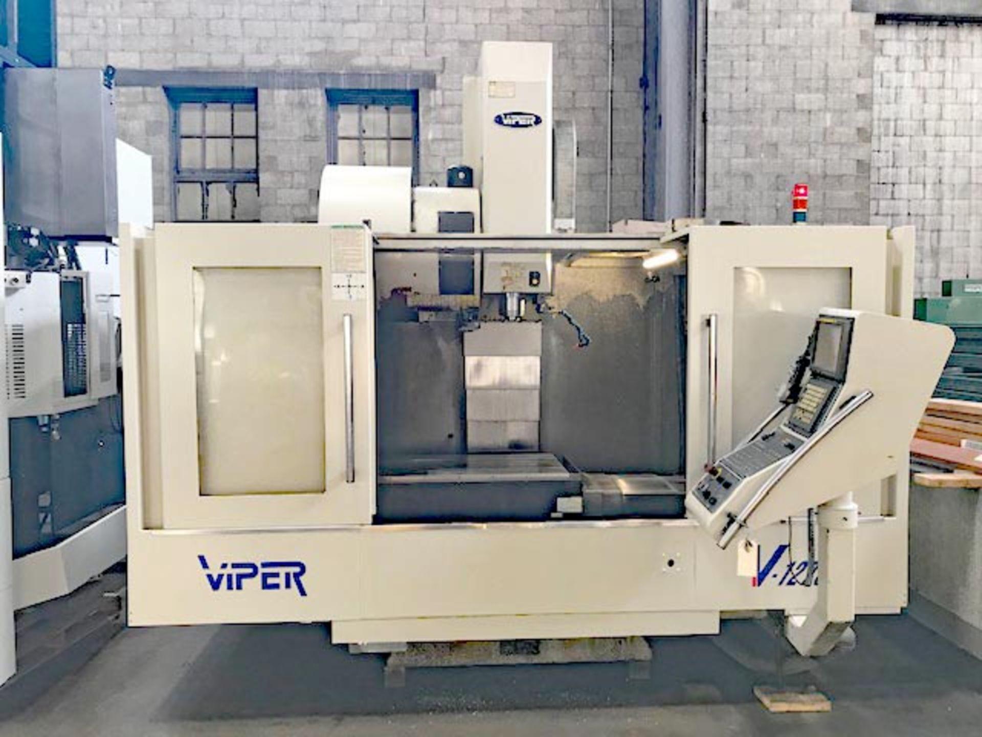 MIGHTY VIPER MODEL VMC-1270 CNC VMC, YEAR 2004, SN 005616 - Image 7 of 8
