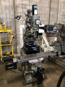 BRIDGEPORT SERIES 1 CNC MILL WITH SWI SOUTHWEST INDUSTRIES PROTO TRAK MX-2, 2- AXIS CNC CONTROL