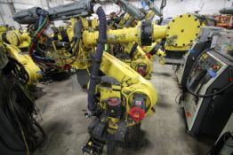 FANUC ROBOT R-2000iB/210F WITH R-30iA CONTROL, CABLES & TEACH PENDANT, SN 97203, YEAR 2009