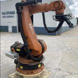KUKA ROBOT KR 100-2 HA 2000 6 AXIS ROBOT WITH KRC2 EDO 5 CONTROLLER, SN 978075, YEAR 07/2008