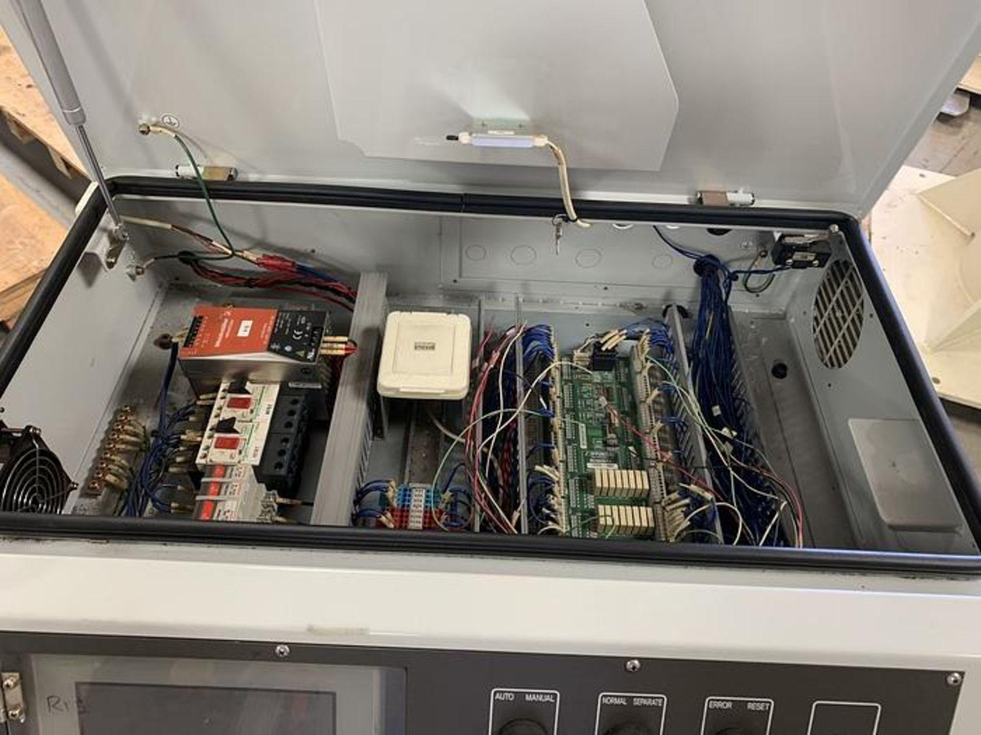HYUNDIA MODEL HX400 400KG X 2573MM Hi5-N80U CONT. 6 AXIS CNC ROBOT, YEAR 2012, SN HB35-054-572 - Image 13 of 21