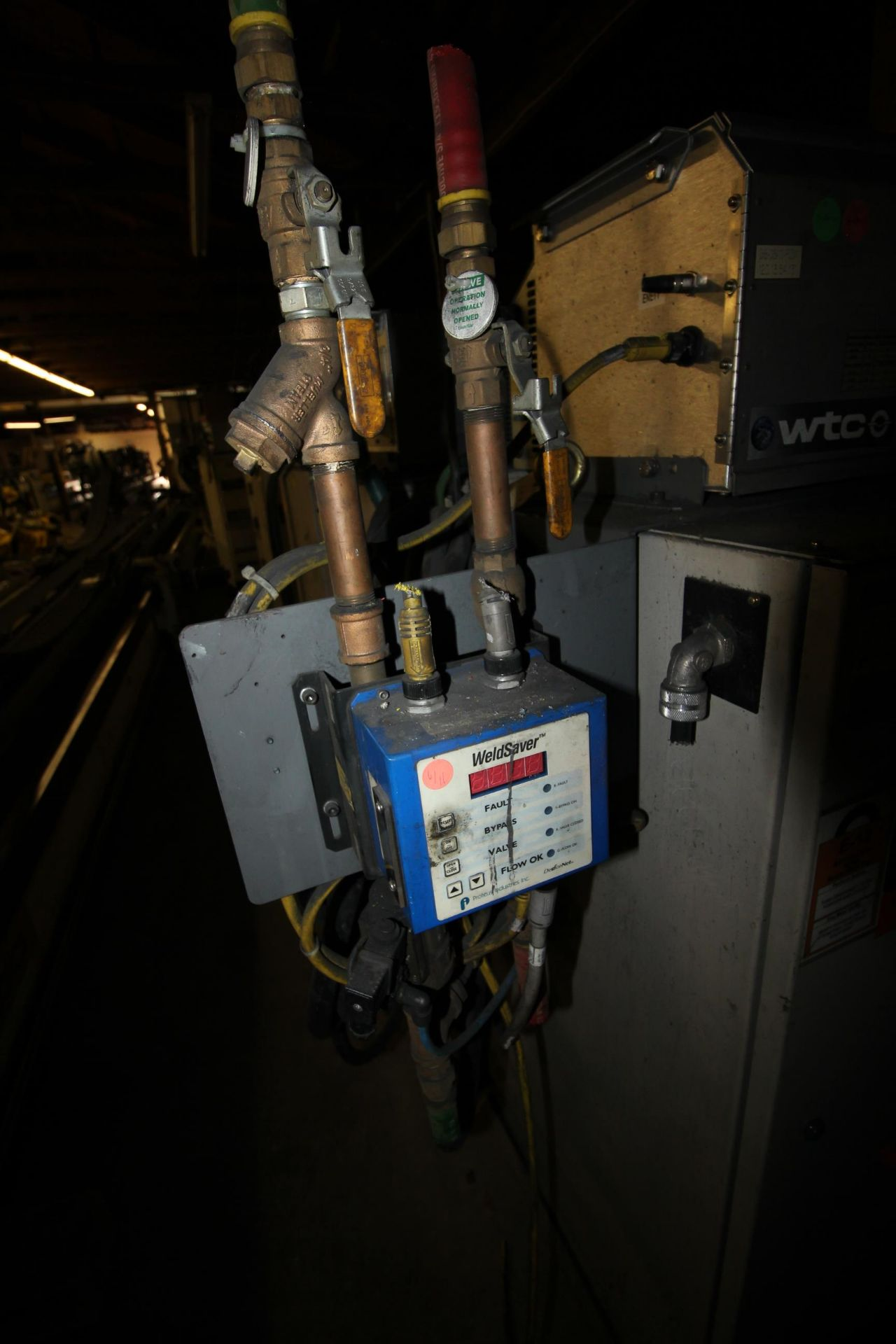 MOTOMAN ROBOT ES200N, NX100 CONTROL, SN S5M255-1-2, YEAR 2006, CABLES AND TEACH PENDANT - Image 10 of 11