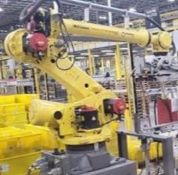 FANUC ROBOT R2000iC/125L 6 AXIS ROBOT WITH R30iB CONTROLLER, IR VISION, SN 194246, CABLES & TEACH