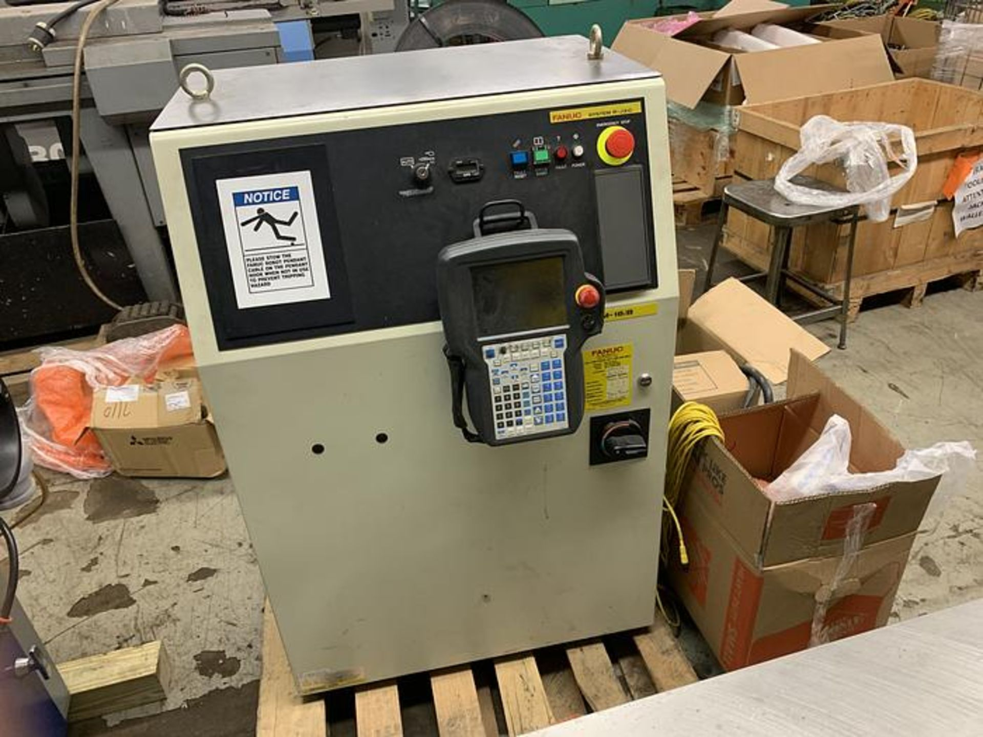 FANUC ROBOT M16iB/10L WITH RJ3iC (R30iA) CONTROLLER, TEACH & CABLES, YEAR 2006, SN 80306 - Image 11 of 17
