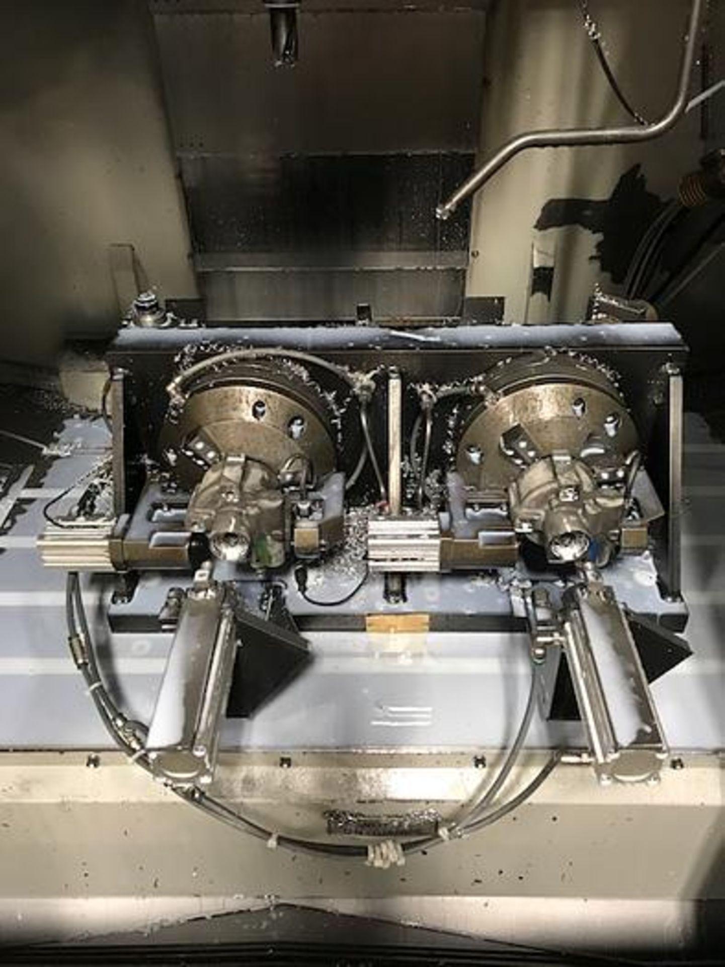 "HARDINGE XR760 CNC VMC PRODUCTION CENTER 30""X24""X24"", YEAR 2010, SN XRAB0A0001 - Image 11 of 12"