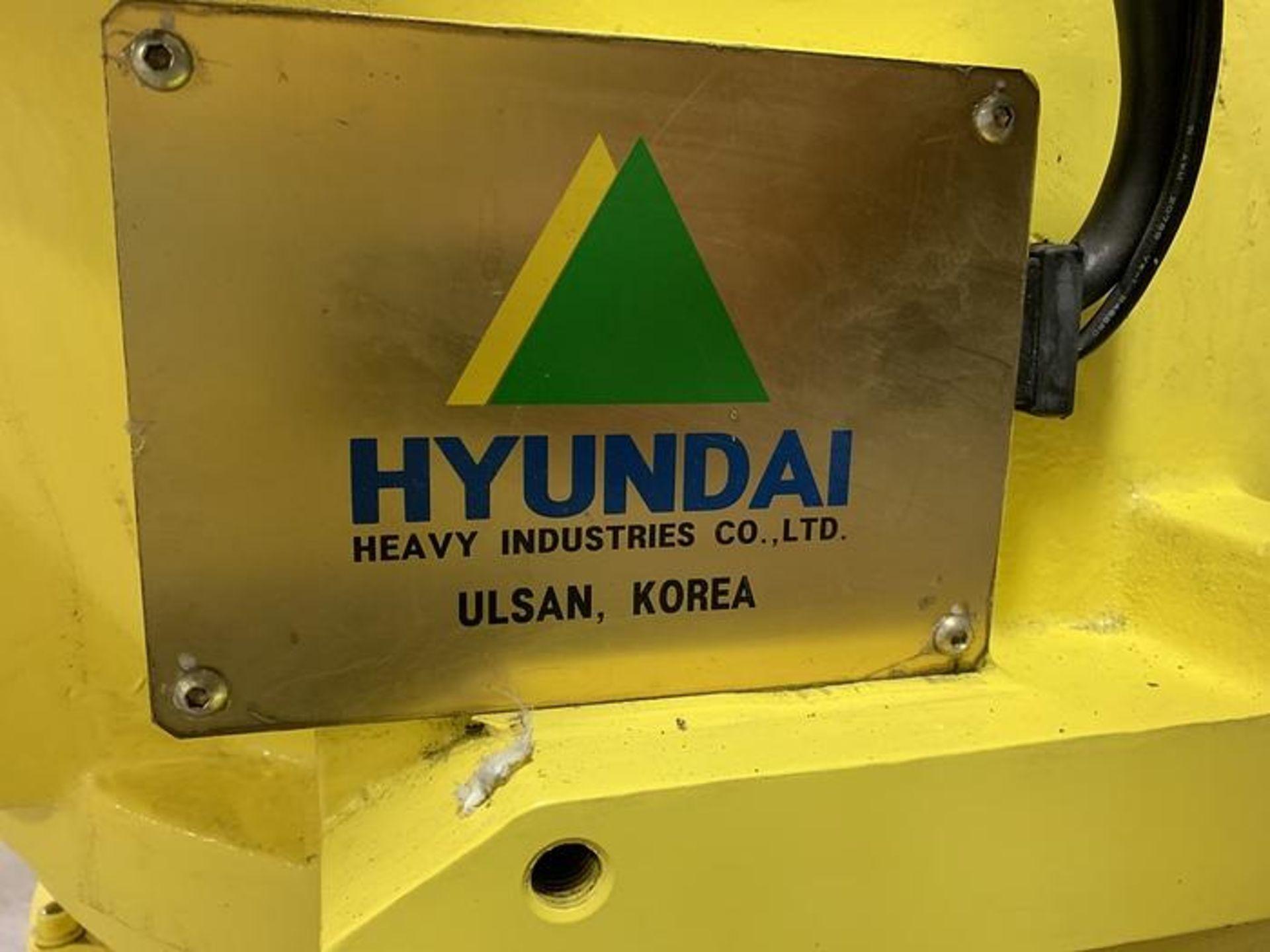 HYUNDIA MODEL HX400 400KG X 2573MM Hi5-N80U CONT. 6 AXIS CNC ROBOT, YEAR 2012, SN HB35-054-572 - Image 17 of 21