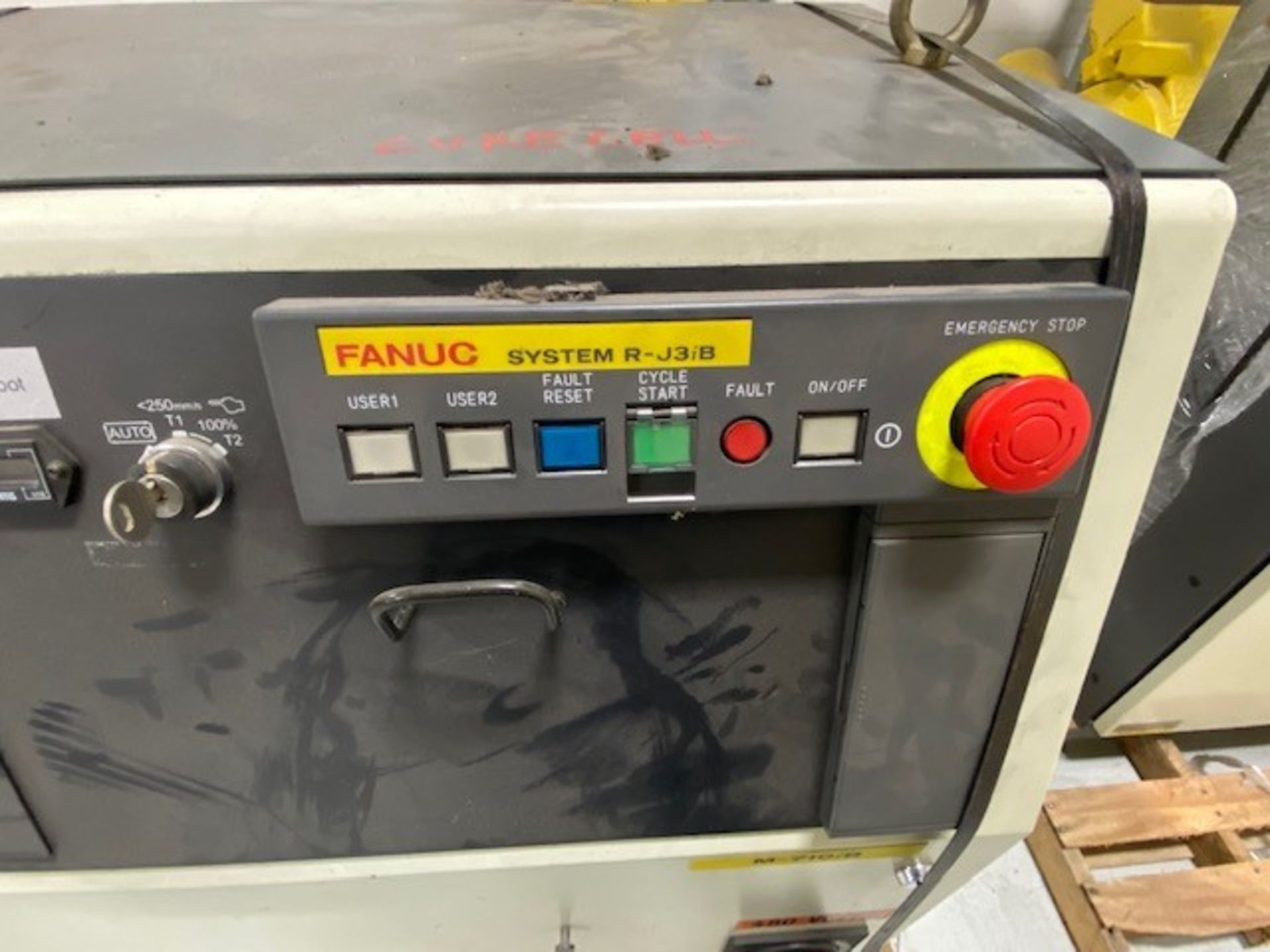 FANUC M710iB/70 WITH R-J3IB CONTROLS, TEACH PENDANT & CABLES, SN 70551 - Image 5 of 9