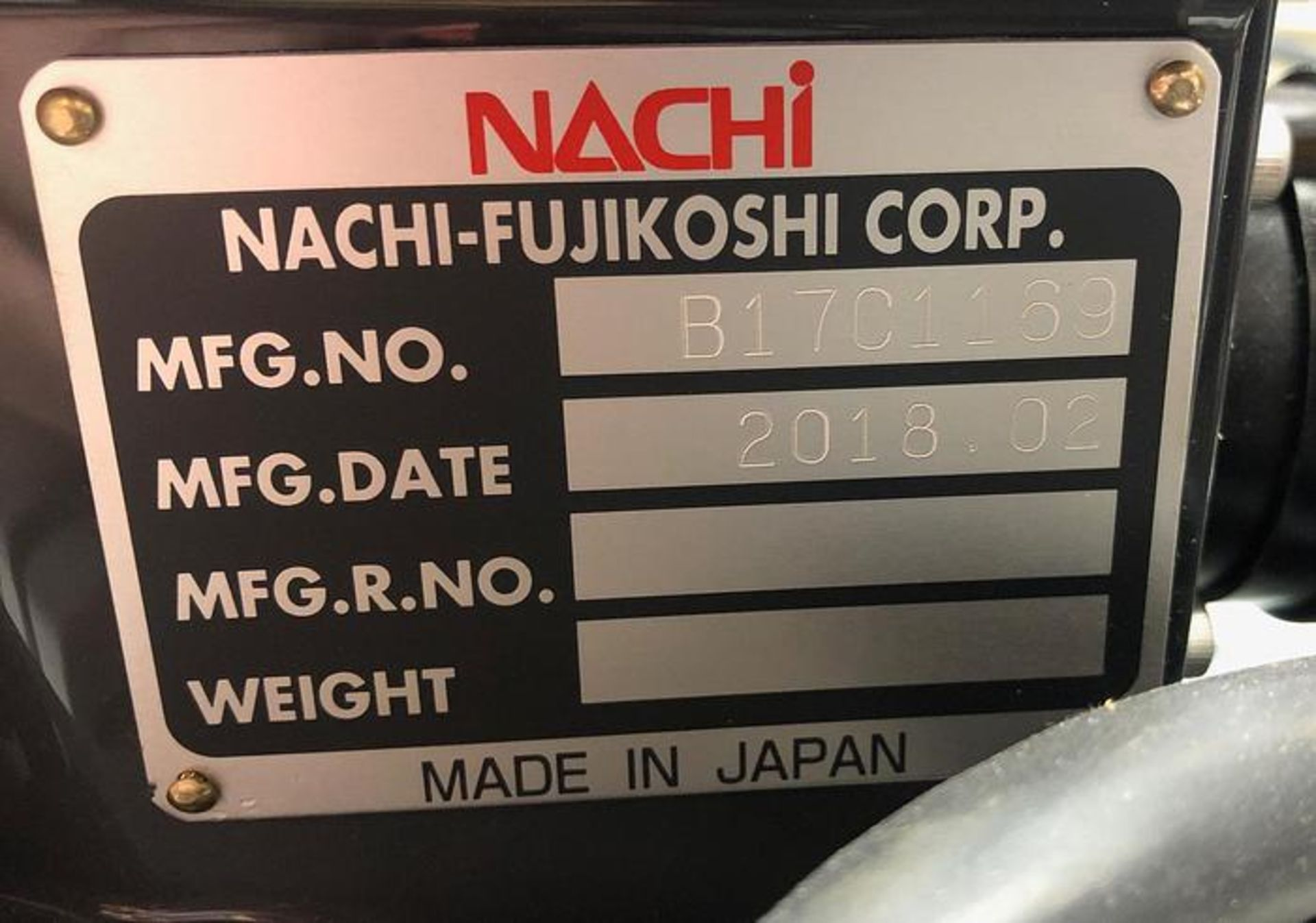 NACHI MZ04E 6 AXIS CNC COLLABRATIVE ROBOT 4 KG X 541 MM REACH NEVER USED BUILT 2018 - Image 8 of 8