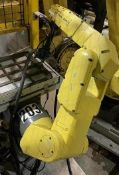 FANUC LR MATE 200iC/5L 6 AXIS CNC ROBOT WITH R30iA CONTROLLER, YEAR 2011, SN F113130