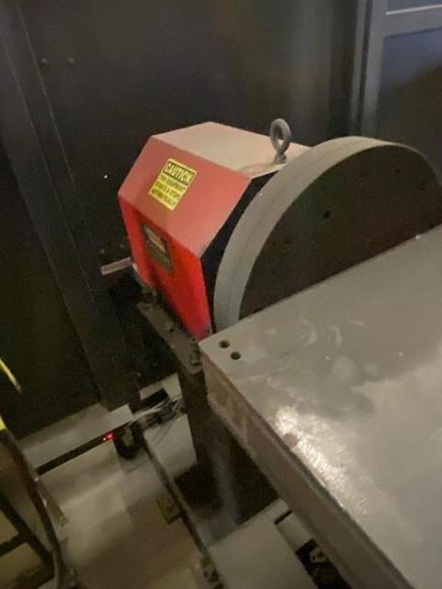 FANUC/LINCOLN DUAL TRUNION WELD CELL, FANUC ROBOT ARCMATE 120iB/10L WITH R-J3iB CONTROL - Image 8 of 11