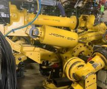 FANUC M900iA/600 6 AXIS ROBOT WITH R30iA CONTROLLER, TEACH & CABLES, SN F112330 YEAR 2011