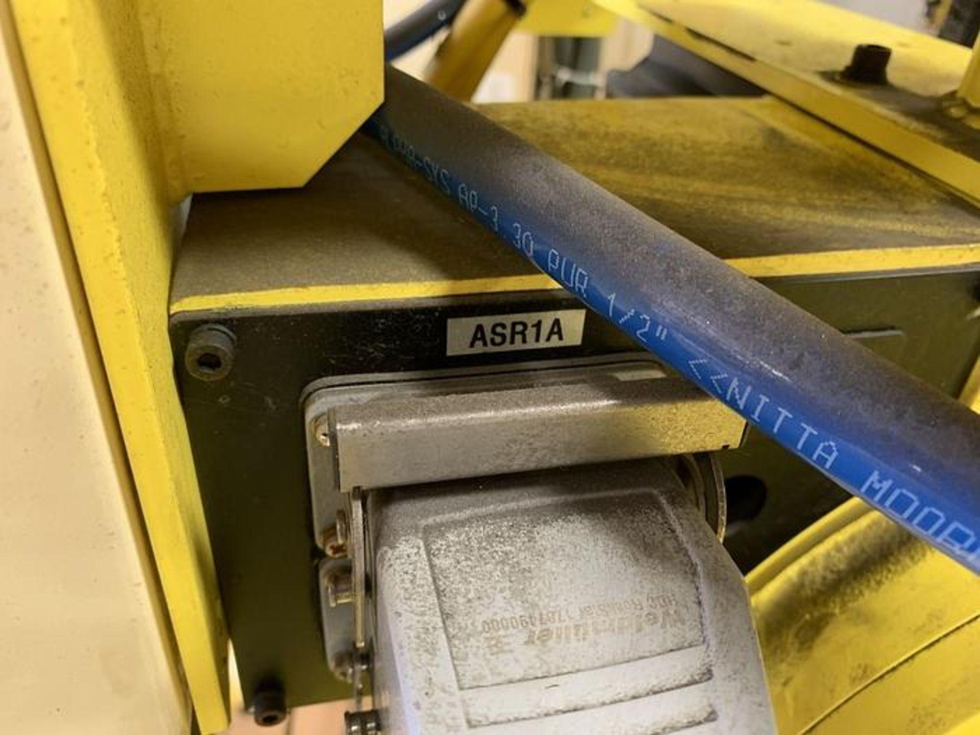 HYUNDIA MODEL HX400 400KG X 2573MM Hi5-N80U CONT. 6 AXIS CNC ROBOT, YEAR 2012, SN HB35-054-572 - Image 21 of 21