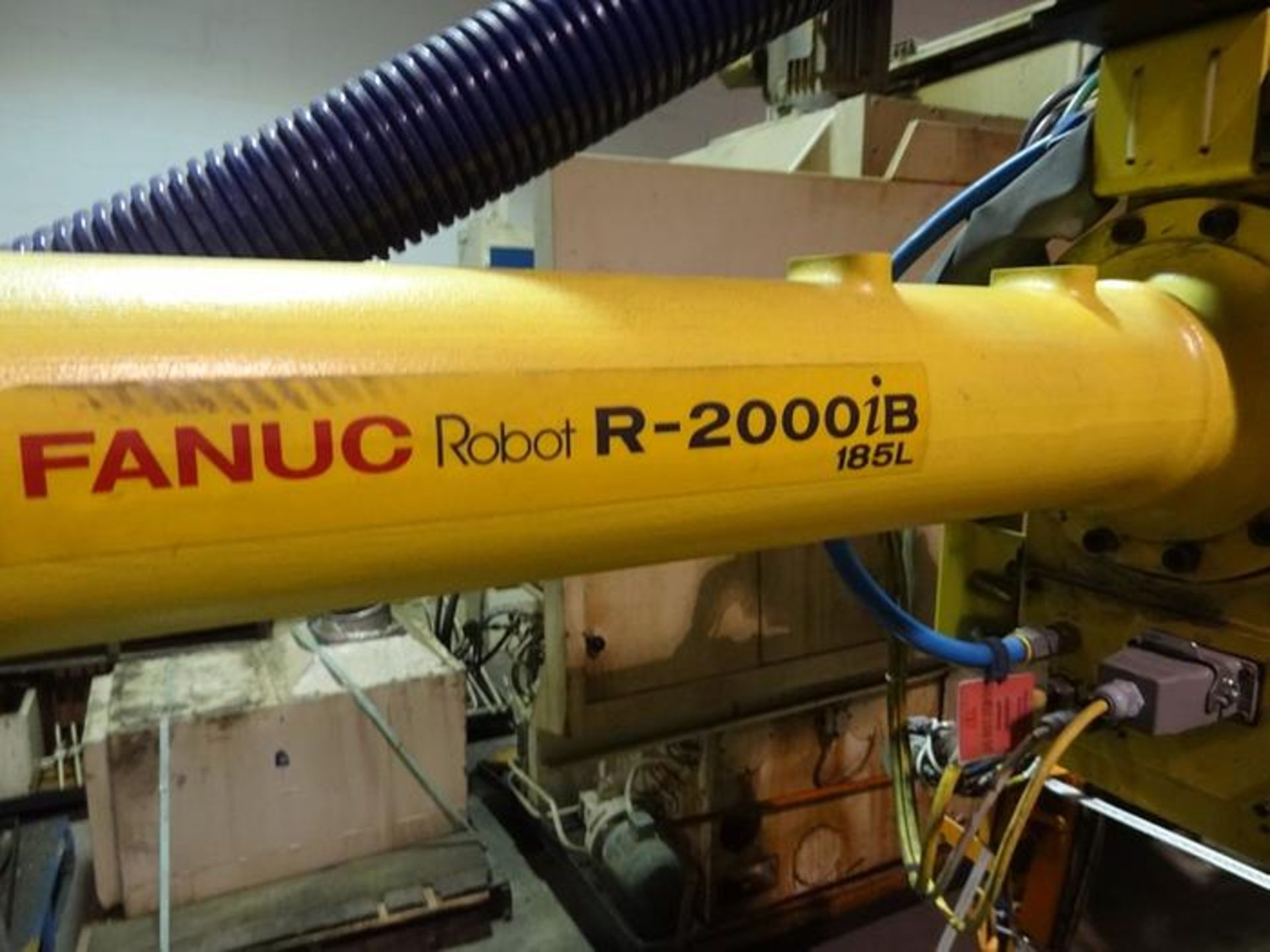 FANUC ROBOT R2000iB/185L WITH R30iA CONTROLLER, TEACH & CABLES, YEAR 2013, SN 132164 - Image 3 of 6